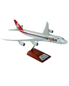 "Aircraft Model LX-VCC Boeing 747-8F ""50th Anniversary"" 1/200"