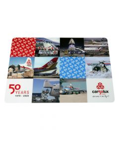 "Mousepad ""50 years Cargolux"""